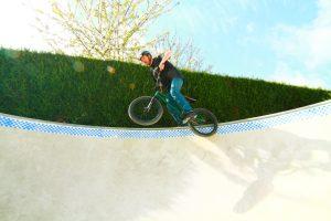 José Hennequin: Le président/ Conseiller BMX d'ABC Skatepark dans le bowl d'ABC Skatepark