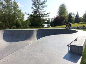 Bowl de la base de loisir du Beny Bocage