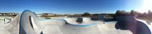 Partie Bowl du skatepark de Chateauroux