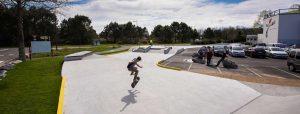 Skatepark au collège de Saint Vincent de Tyrosse